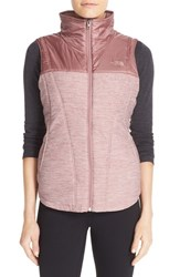 The North Face Women's 'Pseudio' Quilted Vest Nostalgia Rose Heather