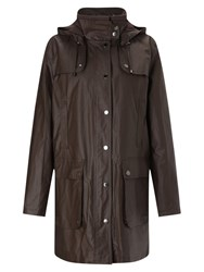 Four Seasons Waxed Jacket Brown