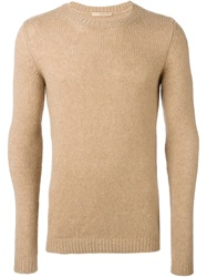 Nuur Crew Neck Sweater Nude And Neutrals