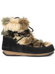 Moon Boot We Low Fur Boots Black