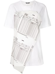 Moohong Applique T Shirt White