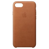 Apple Leather Case For Iphone 8 Saddle Brown