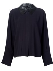 J.W.Anderson J.W. Anderson Cuffed Button Down 'New Age' Shirt Black