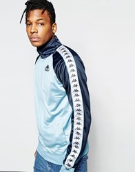 Kappa Track Jacket Blue