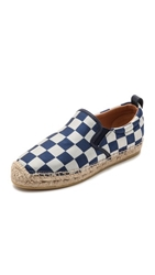 Marc By Marc Jacobs Checkerboard Espadrilles Deep Blue