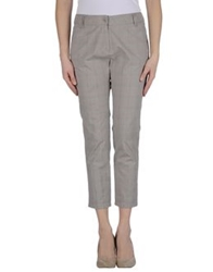 Ekle' Casual Pants Light Grey