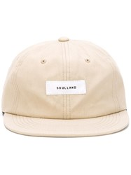 Soulland 'Javier' Cap Nude And Neutrals