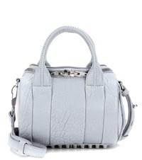 Alexander Wang Mini Rockie Leather Tote Blue