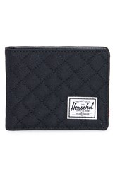 Herschel 'Hank' Quilted Wallet Black