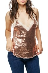 Free People Women's Sassy Sequins Camisole
