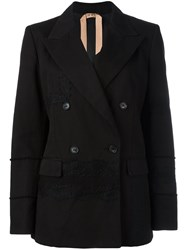 N 21 No21 Button Up Blazer Black