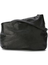 Marsa Ll Large Asymmetric Shoulder Bag Black