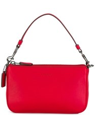 Coach Top Handle Mini Tote Red