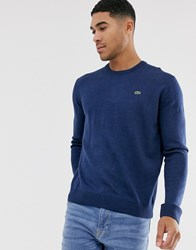 Lacoste Crew Neck Jumper Blue