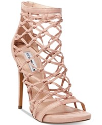 Steve Madden Women's Ursula Caged Dress Sandals Women's Shoes Blush
