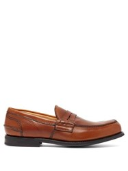 Church's Pembrey Leather Penny Loafers Brown