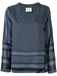 Cecilie Copenhagen Patterned Relaxed Blouse 60