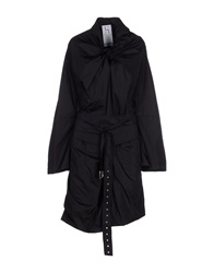 Uniqueness Full Length Jackets Black