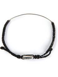 Paul Smith Id Bracelet Black