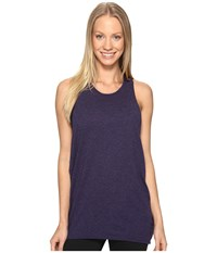 Lucy Keep Calm Tank Top Pure Indigo Women's Sleeveless Blue