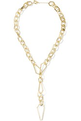Noir Jewelry Louis The Pious Gold Tone Necklace One Size