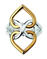 Links Of London Infinite Love Ring Silver Gold