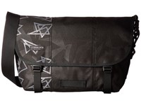 Timbuk2 Classic Messenger Print Medium Triangle Emboss Messenger Bags Black