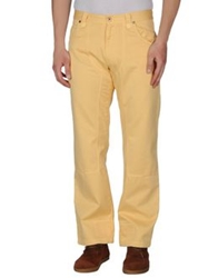 Museum Casual Pants Yellow