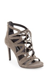 Kenneth Cole Women's New York 'Brielle' Strappy Sandal Elephant Suede