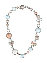 Larkspur And Hawk Sadie Riverstone Bubble Necklace Metallic