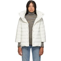 Herno White Down Aminta Jacket