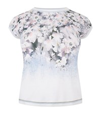 Basler Floral Shell Top Female Multi