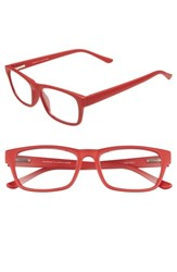 Nordstrom Shop Monroe 53Mm Reading Glasses Red Chili