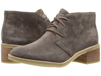 Clarks Phenia Carnaby Grey Suede Women's Lace Up Boots Gray