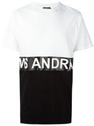 Andrea Crews 'Zero' T Shirt White