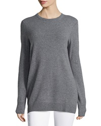 Equipment Rei Crew Neck Cashmere Sweater Heather Gray