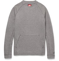 Nike Cotton Blend Tech Fleece Sweater Gray