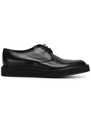 Saint Laurent Lace Up Derby Shoes Black