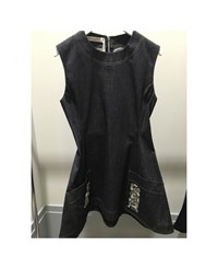 Christian Dior Christian Dior Dress01 Denim Cotton