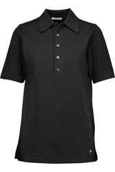 Tomas Maier Cotton Pique Polo Shirt Black