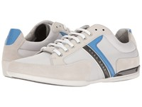 Hugo Boss Spacit By Green Light Grey 1 Men's Lace Up Casual Shoes Blue