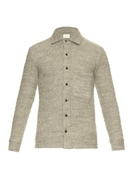 Simon Miller Looped Wool And Cotton Blend Shirt