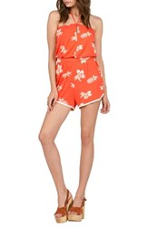 Volcom Women's Pine For Me Print Romper