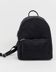 Juicy Couture Multi Logo Backpack Black