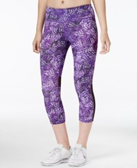 Ideology Printed Capri Leggings Only At Macy's Flinish Flutter