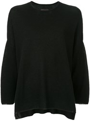 Oyuna Crew Neck Jumper Black