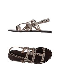 Fifth Avenue Shoe Repair Sandals Black