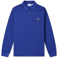 Lacoste Long Sleeve Classic Pique Polo Blue