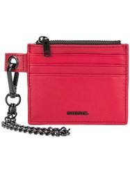Diesel Carly Card Holder Red