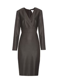 Max Mara Savina Dress Dark Grey
